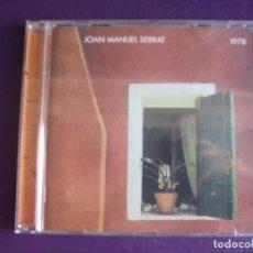 CDs de Música: JOAN MANUEL SERRAT CD BMG 2000 REMASTERIZADO - 1978 - SIN USO. Lote 221345218