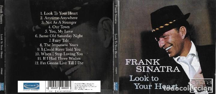 FRANK SINATRA - LOOK TO YOUR HEART (Música - CD's Melódica )
