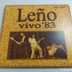 CDs de Música: CD ROCK/LEÑO/VIVO 83/DIGIPACK DVD+CD.. Lote 221355492