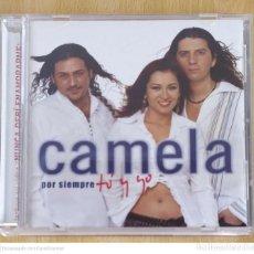 CDs de Música: CAMELA (POR SIEMPRE TU Y YO) CD 2003. Lote 221356810