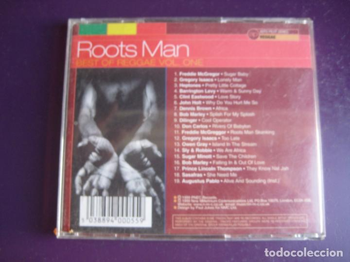 CDs de Música: Roots Man (Best Of Reggae Vol. One) - CD 19 TEMAS - BOB MARLEY - DILINGER - HEPTONES - OWEN GRAY ETC - Foto 2 - 221363563