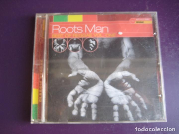 ROOTS MAN (BEST OF REGGAE VOL. ONE) - CD 19 TEMAS - BOB MARLEY - DILINGER - HEPTONES - OWEN GRAY ETC (Música - CD's Reggae)