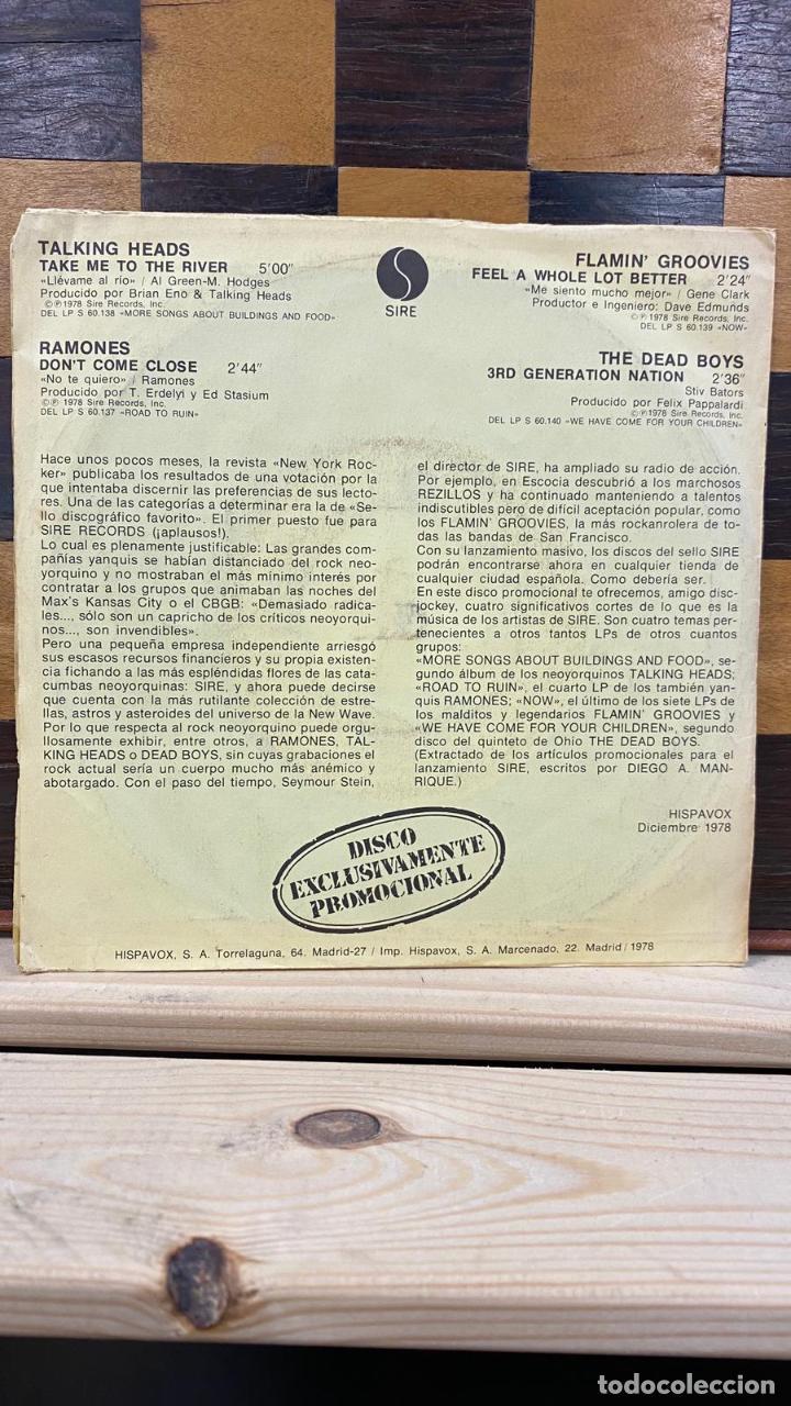 CDs de Música: Talking Heads / Ramones / The Flamin Groovies / The Dead Boys - - Foto 2 - 221383107