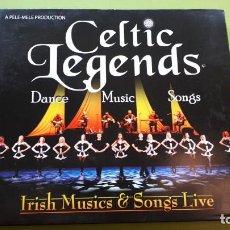 CDs de Música: CELTIC LEGENDS - IRISH MUSICS & SONGS LIVE - 2008 - COMPRA MÍNIMA 3 EUROS. Lote 221395620