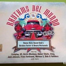 CDs de Música: RHYTHMS DEL MUNDO - CUBA - 2006 - EDICIÓN MEXICANA - COMPRA MÍNIMA 3 EUROS. Lote 221396445