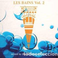 CDs de Música: VARIOUS - LES BAINS VOL. 2 (2XCD, MIXED) LABEL:MERCURY CAT#: 560 975-2. Lote 221403400