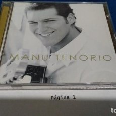 CD di Musica: CD MANU TENORIO PEP´S 2002 OPERACION TRIUNFO - PERFECTO ESTADO. Lote 243929435
