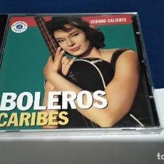 CDs de Música: CD BOLEROS CARIBES - VERANO CALIENTE - 1993 PROMO CAMBIO 16 VOL 4 PERFECTO ESTADO. Lote 221412718