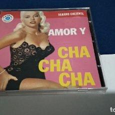 CDs de Música: CD AMOR Y CHA CHA CHA - VERANO CALIENTE - 1993 PROMO CAMBIO 16 VOL 5 PERFECTO ESTADO. Lote 221412845