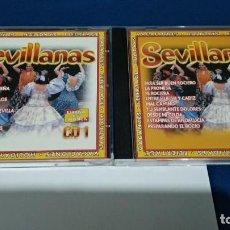 CDs de Música: CD 2 CDS ( SEVILLANAS - ESPAÑA Y SU MUSICA ) 2007 SEND MUSIC PERFECTO ESTADO. Lote 221414362