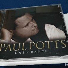 CDs de Música: CD PAUL POTTS - ONE CHANCE - 2007 SONY - PERFECTO ESTADO. Lote 221414553