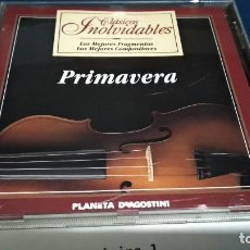 CDs de Música: CD CLÁSICOS INOLVIDABLES ( PRIMAVERA ) 1995 PLANETA DE AGOSTINI PERFECTO ESTADO. Lote 221414990