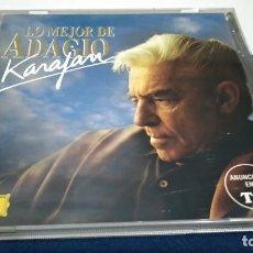 CDs de Música: CD LO MEJOR DE ADAGIO KARAJAN - 2000 DEUTSCHE GRAMMOPHON PERFECTO ESTADO. Lote 221415253