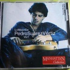 CDs de Música: PEDRO SUÁREZ VÉRTIZ - LO MEJOR DE - VOL 1 - 2000 - EDICIÓN PERUANA - COMPRA MÍNIMA 3 EUROS. Lote 221416347