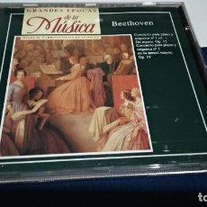 CDs de Música: CD GRANDES EPOCAS DE LA MUSICA - BEETHOVEN 1992 PLANETA GEP 2º PERFECTO ESTADO. Lote 221417542