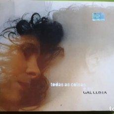 CDs de Música: GAL COSTA - TODAS AS COSAS E EU - DIGIPACK - 2003 - EDICIÓN ARGENTINA - COMPRA MÍNIMA 3 EUROS. Lote 221425413