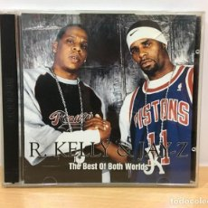 CDs de Música: CD HIP HOP - R. KELLY & JAY-Z - THE BEST OF BOTH WORLDS (2002). Lote 221426251