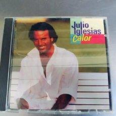 CDs de Música: JULIO IGLESIAS-CD CALOR. Lote 221428408
