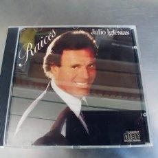 CDs de Música: JULIO IGLESIAS-CD RAICES. Lote 221428630