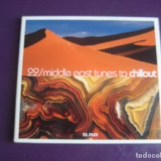 CDs de Música: MIDDLE EAST TUNES TO CHILLOUT - CD EL PAIS 2008 - 10 TEMAS CD SIN APENAS USO, CAJA UN PELIN ROZADA. Lote 221440957