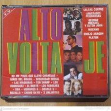 CDs de Música: ALTO VOLTAJE - 2 CD'S 1992 (EL NORTE, LOS REBELDES, HOMBRES G, MECANO, NIÑOS DE BRASIL, PLATON..). Lote 221447283