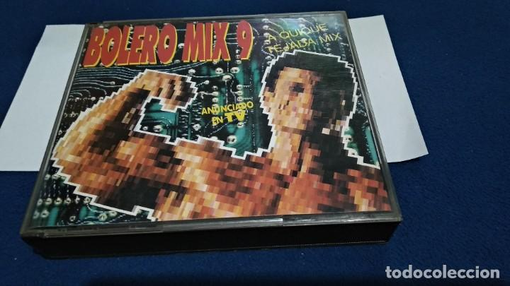 CD DOBLE 2 CD´S CAJA GRANDE ( BOLERO MIX 9 - QUIQUE TEJADA MIX ) 1992 BLANCO Y NEGRO PERFECTO ESTADO (Música - CD's Disco y Dance)