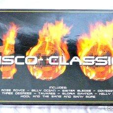 CDs de Música: CD 100 DISCO CLASSICS 4 CD BOX SET, TIME MUSIC INTERNATIONAL LIMITED, NUEVO PRECINTADO,5033606800823. Lote 221476822