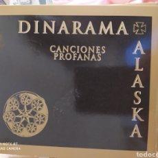 CDs de Música: DINARAMA + ALASKA–CANCIONES PROFANAS . EDICIÓN DELUXE. 2 CDS + LIBRETO. BUEN ESTADO. Lote 221493592