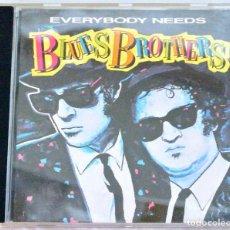 CDs de Música: CD BLUES BROTHERS, ,EVERY BODY NEEDS, WEA, 1988, 02292413792, 241 379-2, FRANCE: WE 851. Lote 221499332