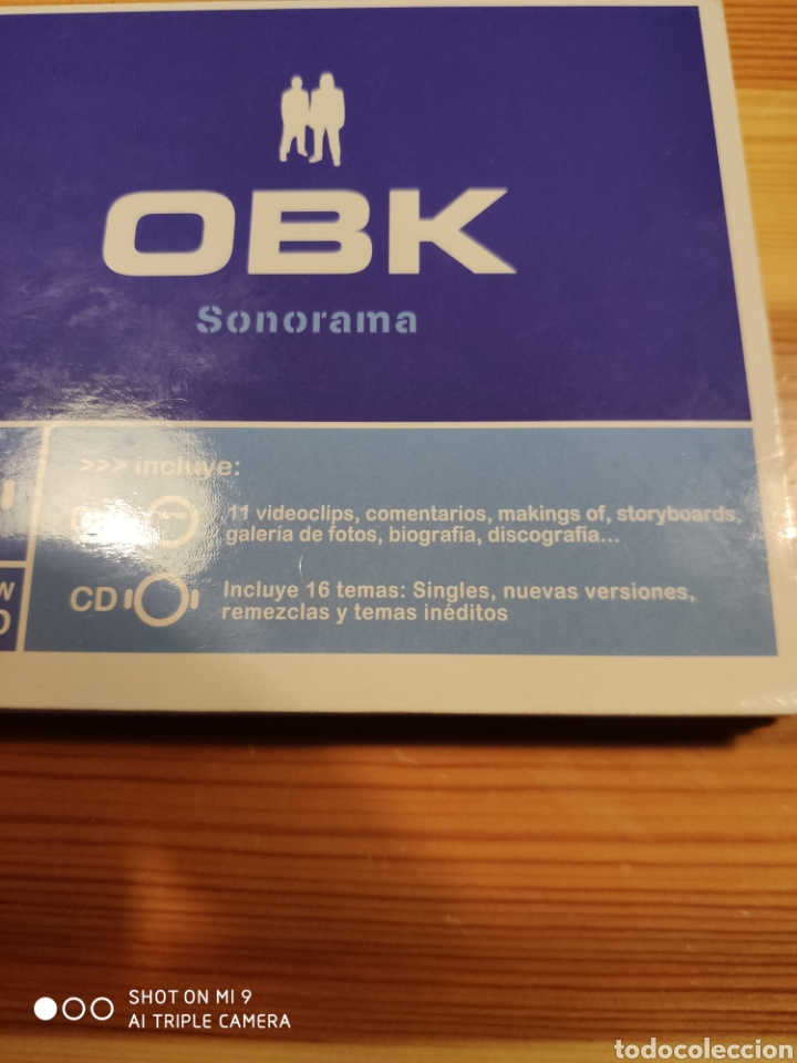 CDs de Música: OBK, SONORAMA. DIFICILÍSIMO DE CONSEGUIR, MUY BUSCADO. - Foto 4 - 221500717