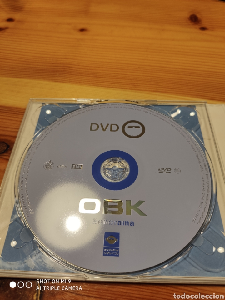 CDs de Música: OBK, SONORAMA. DIFICILÍSIMO DE CONSEGUIR, MUY BUSCADO. - Foto 8 - 221500717