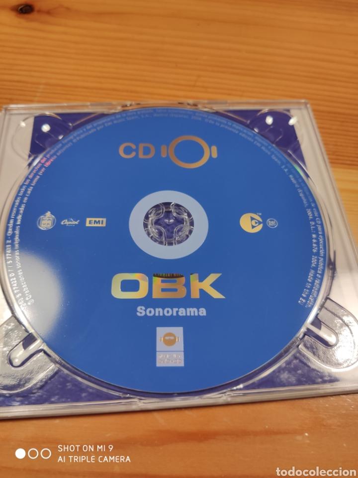 CDs de Música: OBK, SONORAMA. DIFICILÍSIMO DE CONSEGUIR, MUY BUSCADO. - Foto 9 - 221500717