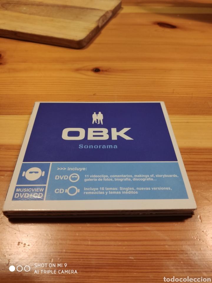 OBK, SONORAMA. DIFICILÍSIMO DE CONSEGUIR, MUY BUSCADO. (Música - CD's Techno)