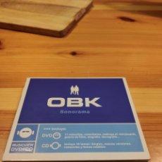 CDs de Música: OBK, SONORAMA. DIFICILÍSIMO DE CONSEGUIR, MUY BUSCADO.. Lote 221500717