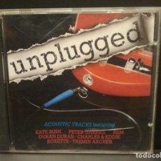 CDs de Música: CD - UNPLUGGED - ACOUSTIC TRACKS - VARIOS - KATE BUSH - ROXETTE - PETER GABRIEL - PEPETO. Lote 221502782