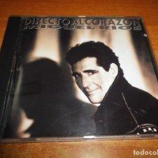 CDs de Música: MIGUEL RIOS DIRECTO AL CORAZON CD ALBUM DEL AÑO 1991 POLYDOR PRIMERA EDICION CONTIENE 11 TEMAS RARO. Lote 221503656