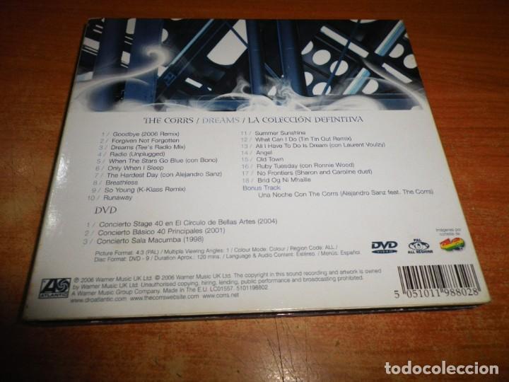CDs de Música: THE CORRS Dreams ALEJANDRO SANZ CD + DVD DIGIPACK 2006 3 CONCIERTOS 40 PRINCIPALES ESPAÑA MUY RARO - Foto 4 - 221505381