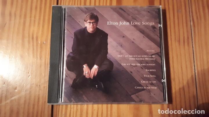 ELTON JOHN - LOVE SONGS - 1995 - COMPRA MÍNIMA 3 EUROS (Música - CD's Pop)