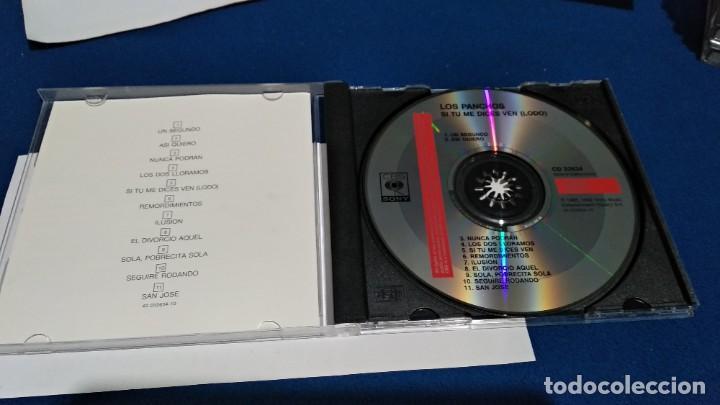CDs de Música: CD - LOS PANCHOS - SI TU ME DICES VEN - 1992 SONY MUSIC CBS - EN PERFECTO ESTADO - Foto 4 - 221515857