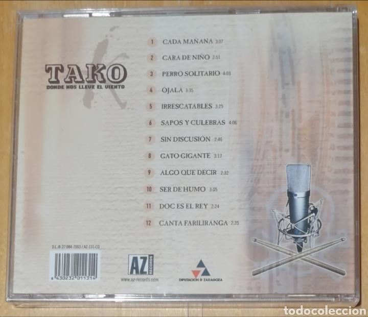 CDs de Música: Tako - Donde el viento nos lleve - Foto 2 - 221515965