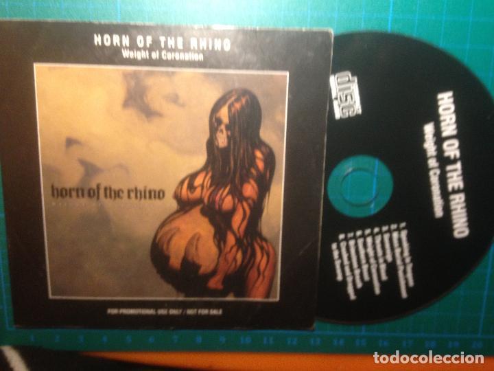 HORN OF THE RHINO - WEIGHT OF CORONATION (Música - CD's Heavy Metal)