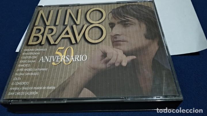 CD DOBLE CD´S X 2 ( NINO BRAVO - 50 ANIVERSARIO ) 1995 POLYGRAM CAJA GRANDE (Música - CD's Pop)