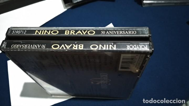 CDs de Música: CD DOBLE CD´S X 2 ( NINO BRAVO - 50 ANIVERSARIO ) 1995 POLYGRAM CAJA GRANDE - Foto 3 - 221517410