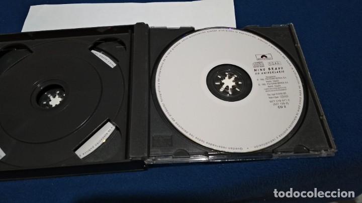 CDs de Música: CD DOBLE CD´S X 2 ( NINO BRAVO - 50 ANIVERSARIO ) 1995 POLYGRAM CAJA GRANDE - Foto 7 - 221517410