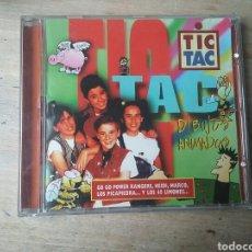 CDs de Música: CD TIC TAC DIBUJOS ANIMADOS 1996 ZAFIRO. Lote 221534645