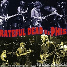 CDs de Música: GRATEFUL DEAD VS PHISH. Lote 221543922
