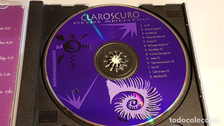 CDs de Música: CLAROSCURO / DESDE ADENTRO / CD - ROCK-COSTA RICA / MUY BUENA CALIDAD. / 13 TEMAS. - Foto 2 - 221553206