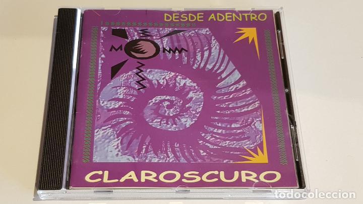 CLAROSCURO / DESDE ADENTRO / CD - ROCK-COSTA RICA / MUY BUENA CALIDAD. / 13 TEMAS. (Música - CD's Rock)