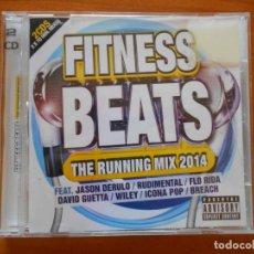 CDs de Música: CD FITNESS BEATS - THE RUNNING MIX 2014 (2 CD'S) - LEER DESCRIPCION (F3). Lote 221560397