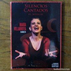 CDs de Música: MARÍA VILLARROYA - SILENCIOS CANTADOS, EL MUSICAL - 2017 - PRECINTADO. Lote 221560575